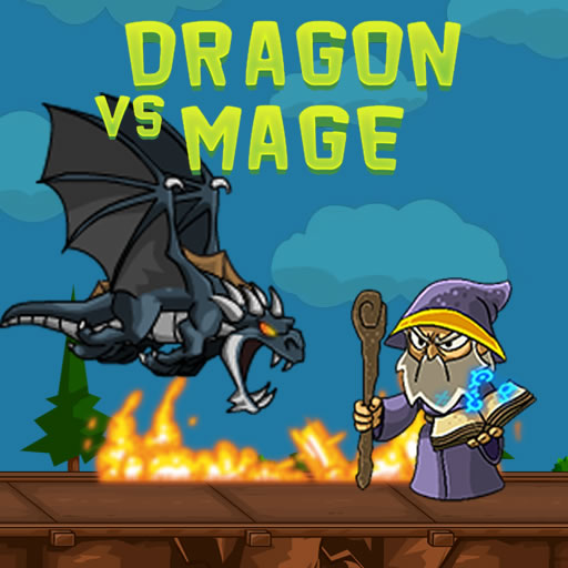 Dragon vs Mage
