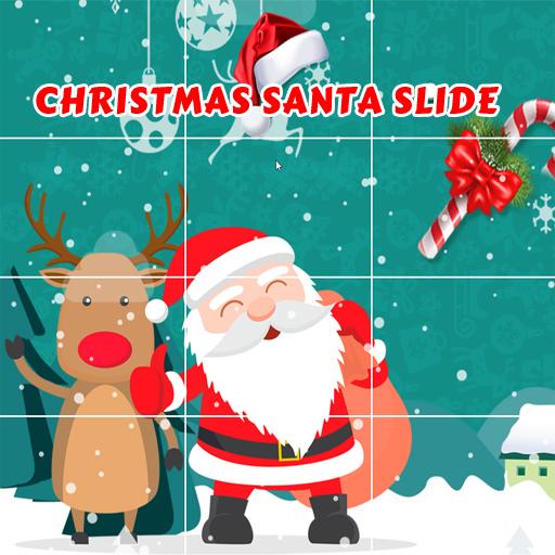 Christmas Santa Slide