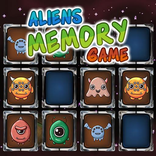 Aliens Memory Game