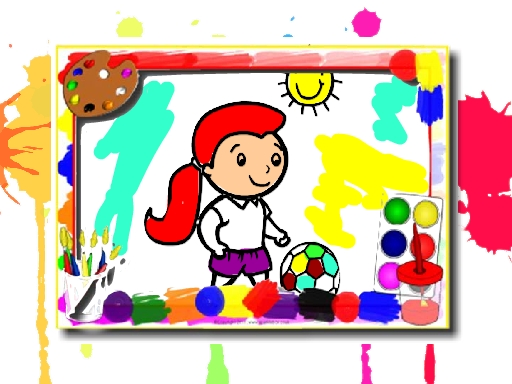 Football Coloring Book online hra