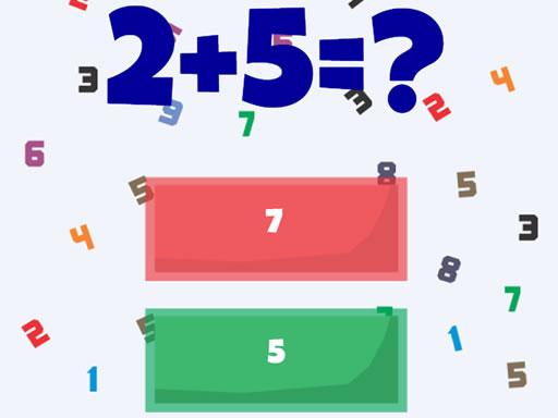 正確的數學--Correct Math-正確數學是一個數學遊戲,您可以在其中測試您的數字加減法知識。 您將獲得數學問題的三個答案,您需要單擊正確的結果。 考慮結果的時間很短。 快速準確。 在這個數學智力遊戲中盡可能獲得積分。