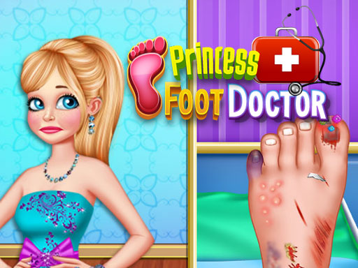 Princess Foot Doctor online hra