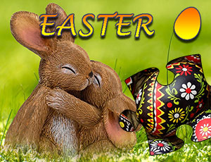 Jigsaw Puzzle Easter online hra