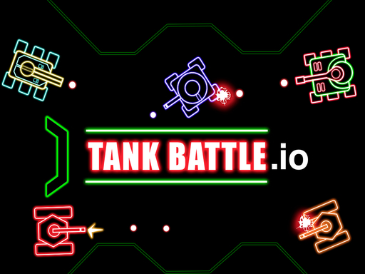 Tank Battle io Multiplayer online hra