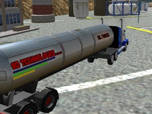 Oil Tanker Truck Drive
