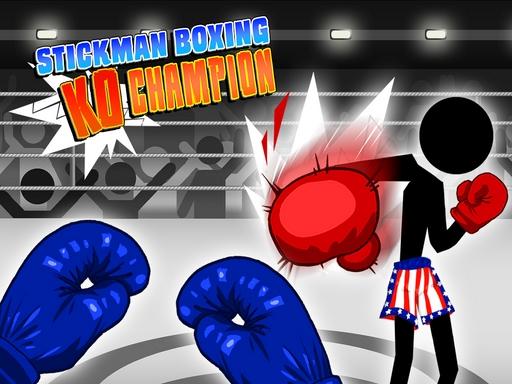 Stickman Boxing KO Champion online hra