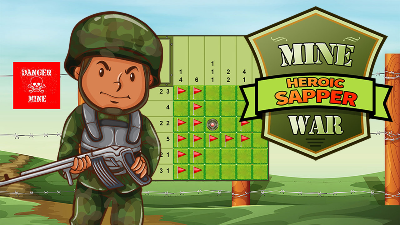 Sapeur héroïque de la guerre des mines