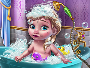 Ice Queen Baby Shower Fun online hra