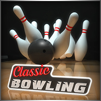 Classic Bowling Game online hra