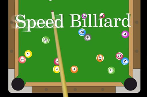 Aperçu du jeu Speed Billiard