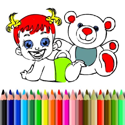 Jogar BTS Baby Doll Coloring Gratis Online