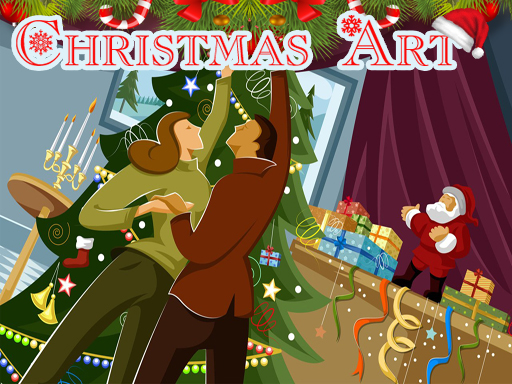 Christmas Art 2019 Slide