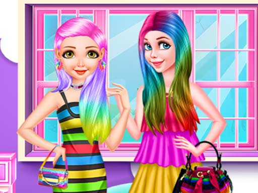 Princess Rainbow Look online hra