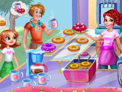 Donuts Bakery online hra