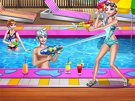 Family Pool Time online hra