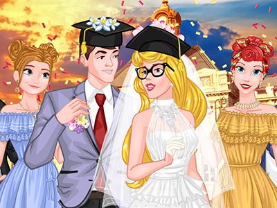 Princess College Campus Wedding online hra