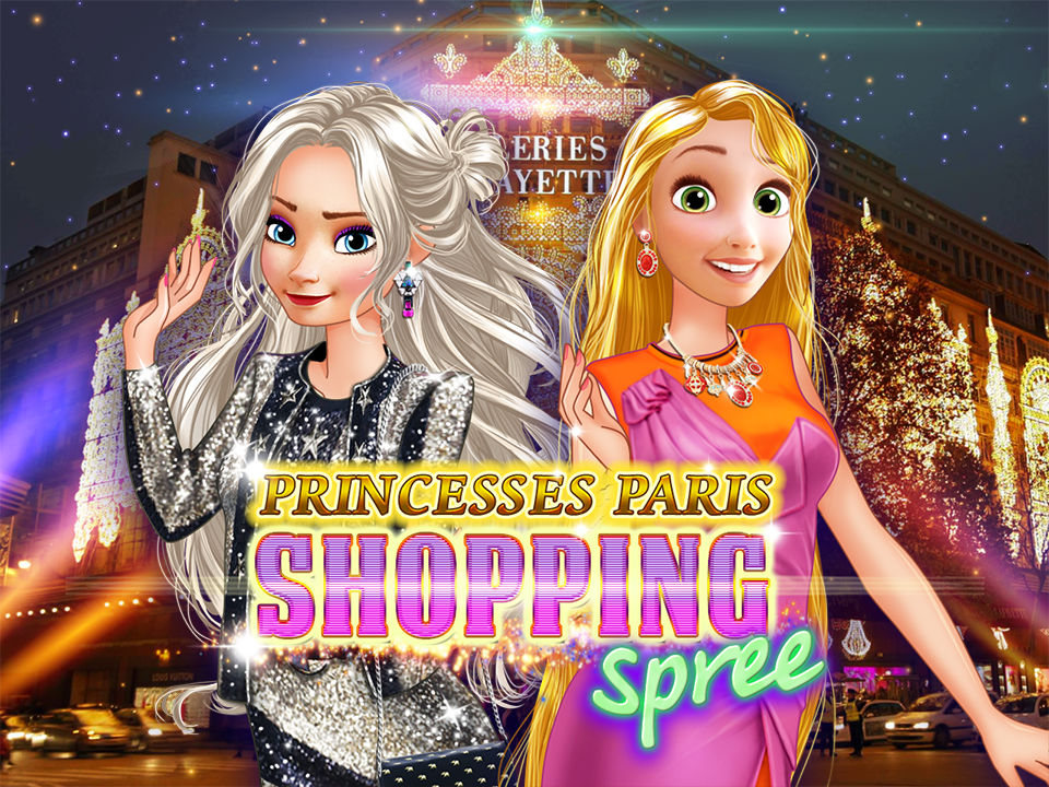 Princesses Paris Shopping Spree online hra