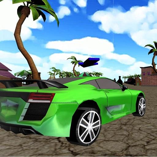 Xtreme Beach Car Racing