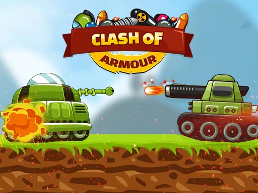 Clash of Armour is real time strategy tank game. Objective is to destroy the opponent defense by deploying the armour units . Each unit has its own weakness and strength, selecting the right units at appropriate time is best way to win the battle. Good Luck