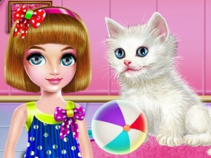 Kitty Care and Grooming online hra