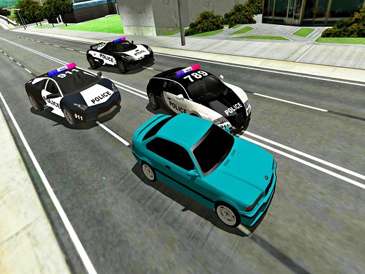 Mad Cop Police Car Race ...
