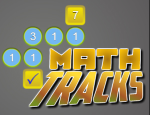 Math Tracks online hra