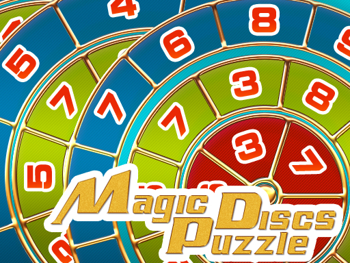 Magic Discs Puzzle online hra