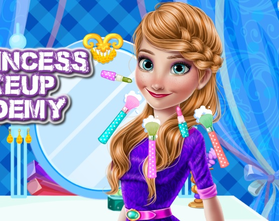 Ice Princess Make Up Academy online hra