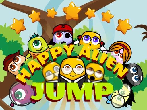 Happy Alien Jump online hra