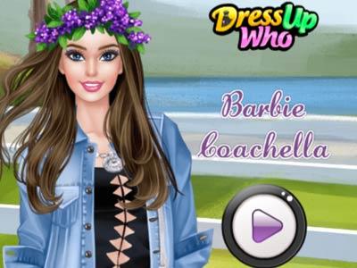 Barbie Coachella online hra
