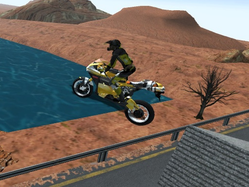 Highway Traffic Bike Stunts online hra