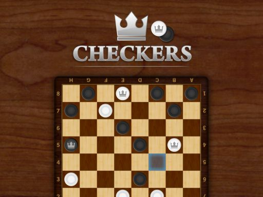Checkers online hra