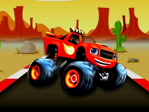 Monster Truck Hidden Star online hra