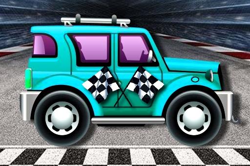 Course de voitures miniatures