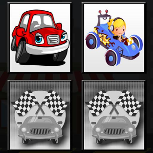 Racing Cars Memory