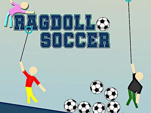 布娃娃足球--Ragdoll Soccer-布娃娃足球是一款基於物理的足球遊戲。 您可以在 1 人挑戰模式或 2 人足球比賽中玩遊戲。 嘗試保持進球以贏得比賽。
