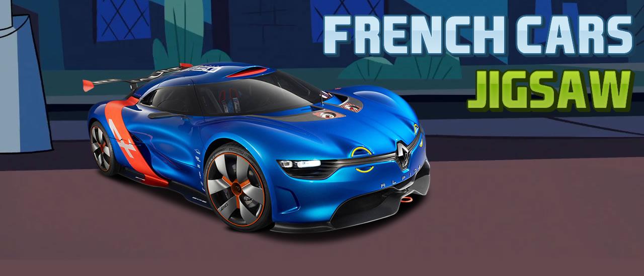Puzzle voitures françaises