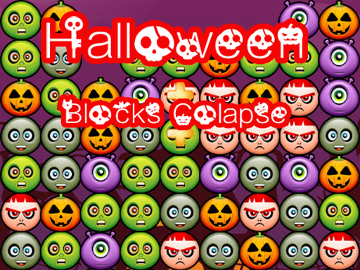Halloween Blocks Collaspse ...