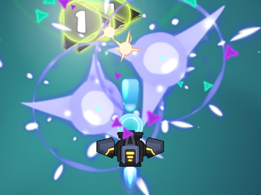 Galaxy Attack Virus Shooter