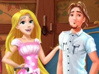 Rapunzel and Flynn Moving Together