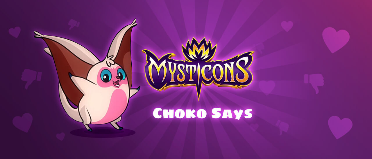 Mysticons choko say