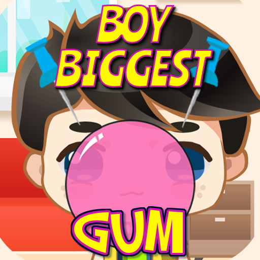 Boy Biggest Gum