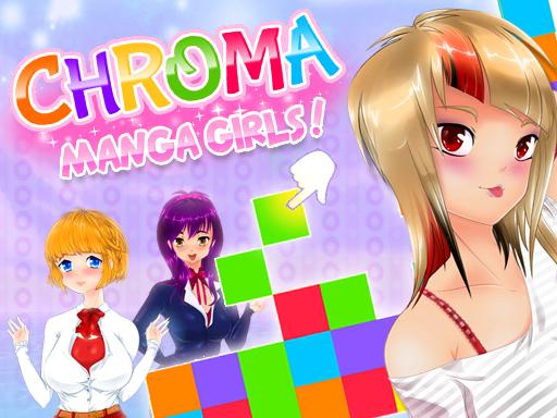 Chroma Manga Girls game