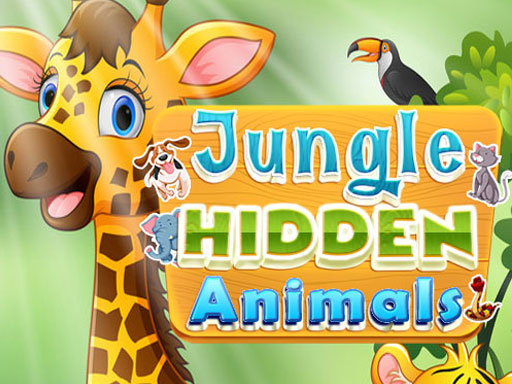 Jungle Hidden Animals online hra