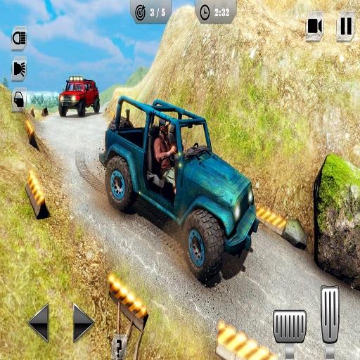 Mountain Climb Passenger Jeep Simulator Game