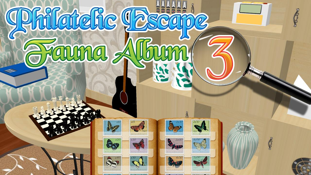 Image Philatelic Escape Fauna Album 3