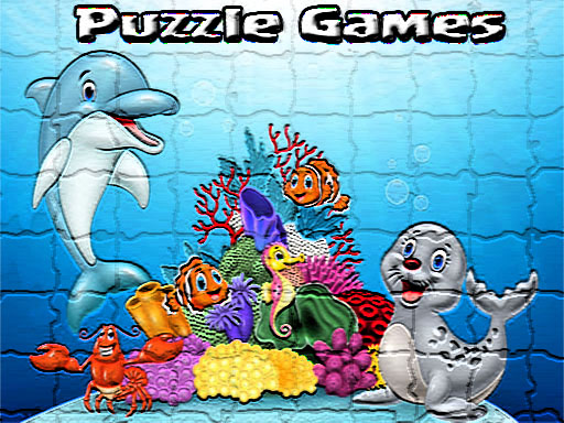 Puzzle Cartoon Kids Games