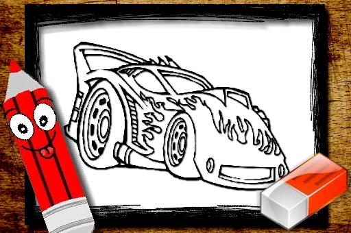 Livre de coloriage bts cars