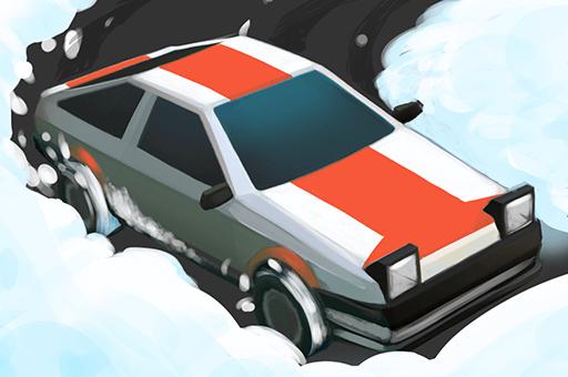 Dérive de la neige.