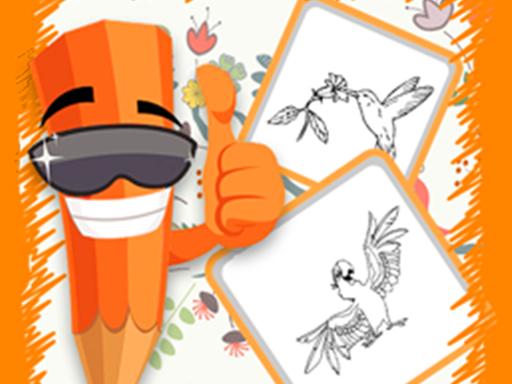 Birds Coloring online hra
